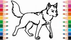 draw so animals coloring pages 17359 how to draw wolf coloring pages for drawing animals learn colors for children