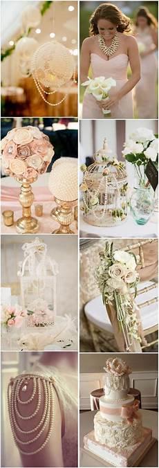 vintage wedding ideas vintage pearl wedding decor ideas tulleandchantilly com