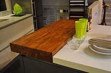 ilots central pour cuisine plan snack bois massif sur