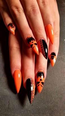 halloween nails halloween nails pumpkin spooky