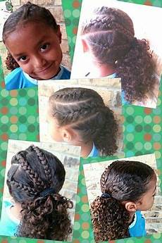 triple braid side pony hairstyle easy