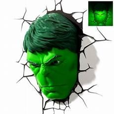 3d light fx hulk face wall light sales
