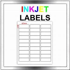 450 inkjet address return to sender labels 30 per sheet ebay