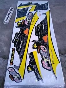 Modifikasi Fino Karbu by Cutting Sticker Motor Yamaha Fino Otomania Update