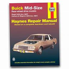 how to download repair manuals 1986 buick regal navigation system buick regal haynes repair manual sport gnx grand national t type limited pn auctions buy and