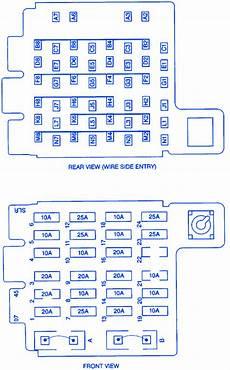 Chevrolet Tahoe 5700 2000 Fuse Box Block Circuit Breaker