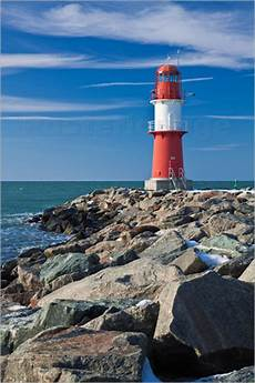 k 246 dder lighthouse on the baltic sea coast in