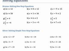 introduction to solving equations teaching resources