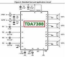 Tda7388 Datasheet 4 X 45w Bridge Car Radio Lifier St