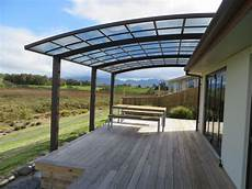 carport sunshade with aluminum alloy frame and polycarbonate sheet roof in garages