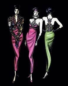 Malvorlagen Clown Versace Gianni Versace Illustration Fashion Illustration