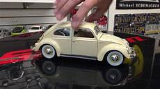 1955 volkswagen beetle diecast model 1 18 scale unboxing