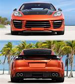 2012 Porsche Panamera TopCar Stingray GTR Orange