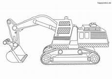 Ausmalbilder Bagger Traktor Fahrzeug Malvorlage Kostenlos 187 Fahrzeuge Ausmalbilder