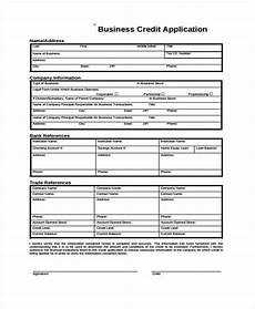 free 10 business credit application forms in pdf ms word