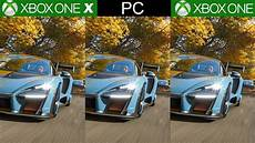 xbox one s forza horizon 4 forza horizon 4 xbox one x vs xbox one vs pc a technical