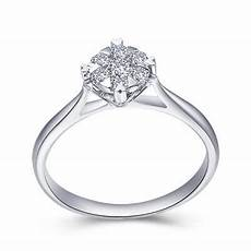 2019 1ct natural diamond engagement rings for