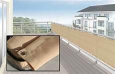 Balkon Umrandung Sichtschutz Windschutz 65x500 Cm Farbe
