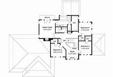 low pitch roof house plans clean lines and a low pitched roof 14357rk 2nd floor