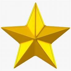golden star 3d