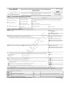 irs form 5500 sf download fillable pdf 2018 short form annual return report of small employee