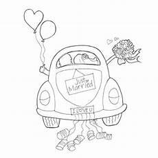 Malvorlagen Auto Just Married Just Married Hochzeitsgeschenke Ideen Geldgeschenke