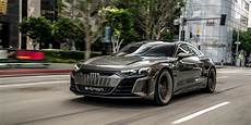 audi e gt concept on the streets of los angeles