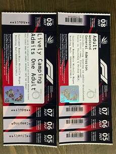 silverstone f1 ticket 2018 in chester le county