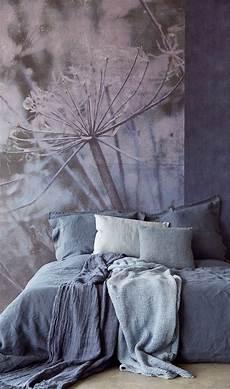 Lino Mural Bedroom Wallpaper Warehouse Blue Walls