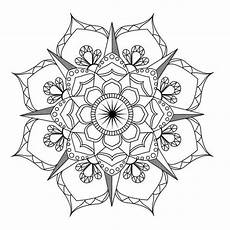 Mandala Malvorlagen Pdf Flower Mandala Coloring Page Coloring Therapy
