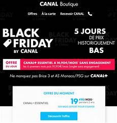 Code Promo Canal Plus Black Friday Bons De R 233 Ductions 2018