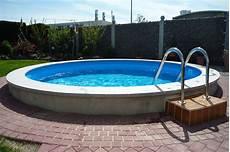 pool zum einbauen stahlwandbecken ovalpool ohne beton einbauen mit conzero oval