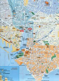 Map Of Marseille