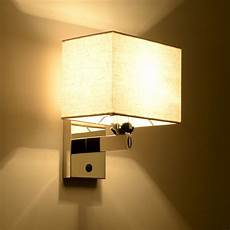 modern wall light led reading l wall l hostel bed wall sconces bedroom light fabric