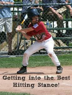 the correct stance leads to a successful swing in kids baseball