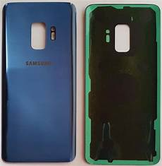 samsung galaxy s9 plus blau akkudeckel backcover r 252 ckseite