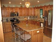 Kitchen Decorating Ideas Oak Cabinets by Kitchens With Oak Cabinets And Tile Floors Jardina S