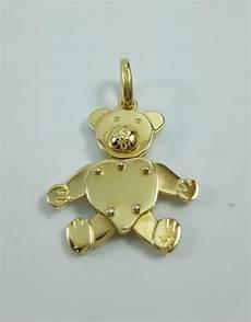 pomellato orsetto pendente donna orsetto grande della quot pomellato quot in oro