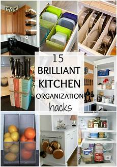 brilliant kitchen organization hacks a blissful nest