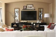 Home Decor Ideas Tv Room by Decorating Around A Tv Console Decorating Around A Wall