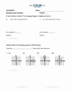 mapping diagrams worksheets 11529 worksheet functions using the veritical line test and mapping diagrams algebra printable