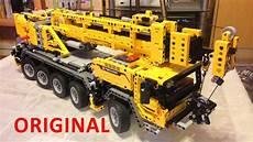 Lego Technic Build by Lego Technic 42009 Mobile Crane Mk Ii Time Lapse Build