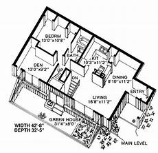 earth bermed house plans house plan 19863 earth sheltered style with 1572 sq ft