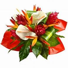 bouquet de fleurs exotiques fantaisie est un charmant bouquet exotique compos 233 d