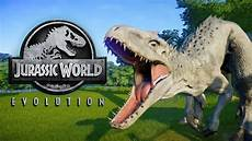 indominus rex jurassic world evolution moment lucu