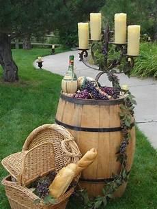 35 creative rustic wedding ideas to use wine barrels