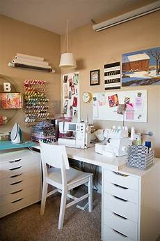 tiny sewing crafting corner inspiration find space to