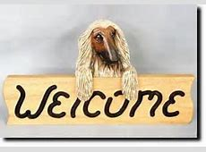 Great Pyrenees Dog Breed Oak Welcome Sign   Dog Owner Home