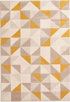 teppich gelb grau teppiche teppich webteppich preiswert modern design