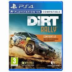jeux de voiture rally dirt rally vr ps4 jeux vid 233 o achat prix fnac